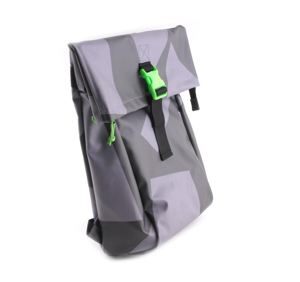 bree punch 92 rucksack in black grey ebay. Black Bedroom Furniture Sets. Home Design Ideas