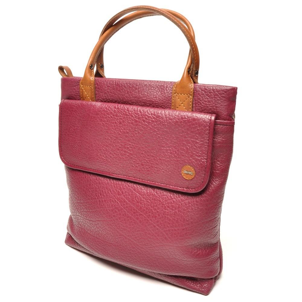 berba Chamonix 458 - Handtasche in berry