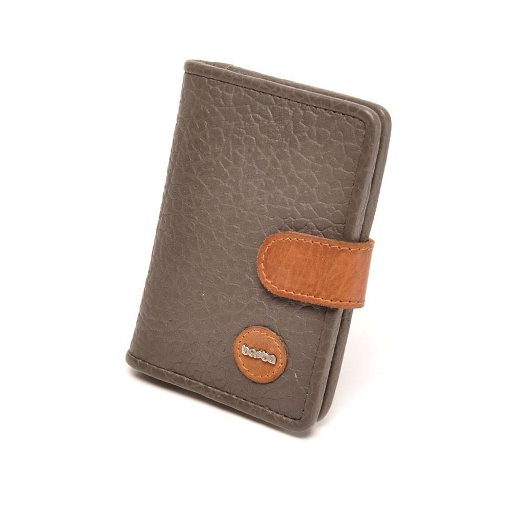 berba Chamonix 011 - Kreditkartenbörse in grau-braun