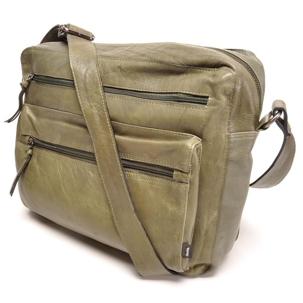 berba Basel - Businesstasche in dunkelgrün (Taschen)