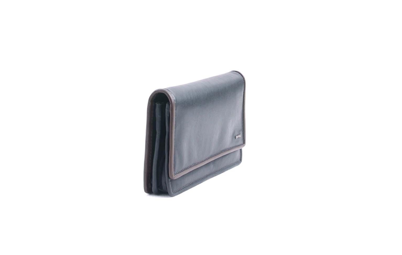 berba Soft 249 - Geldbörse in schwarz Seitenansicht