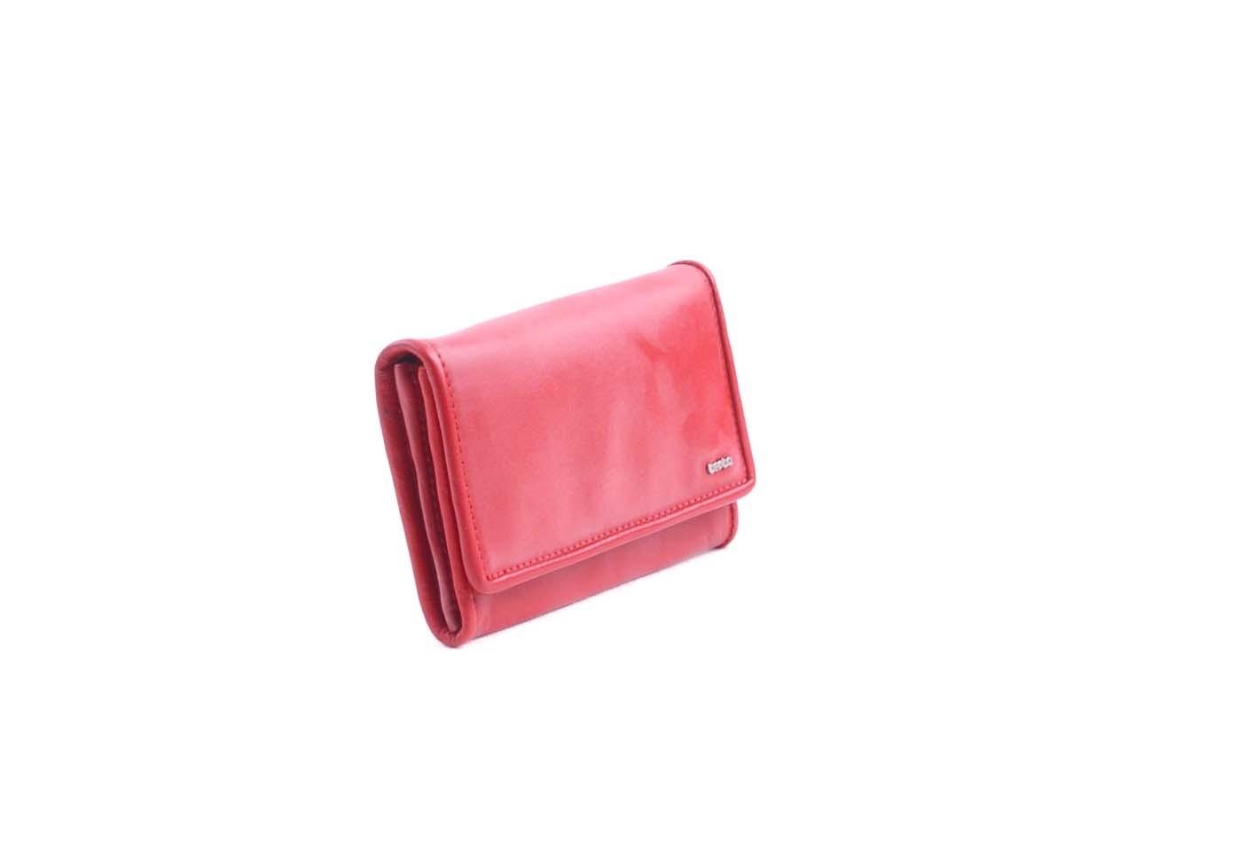 berba Soft 303 - Geldbörse in rot Seitenansicht
