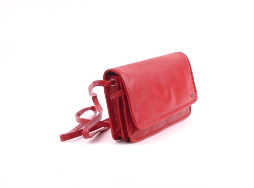 berba Soft 027 - Kleine Umhängetasche in rot
