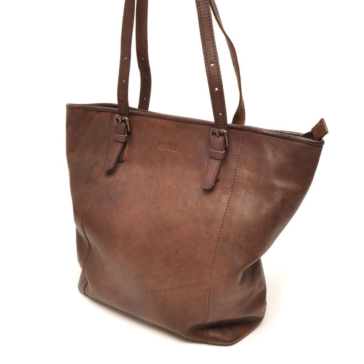berba Sion 502 - Shopper in dark brown