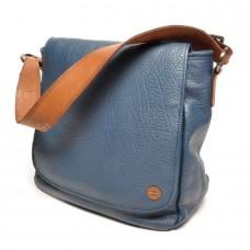 berba Chamonix - Überschlagtasche in blau