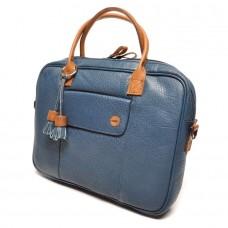 berba Chamonix - Kleine Businesstasche in blau