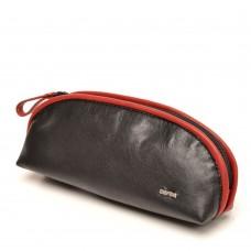 berba Soft 020 - Kosmetiktasche in schwarz-rot