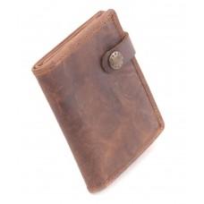 BARBAROSSA Ruvido - Kleine Brieftasche in coffee
