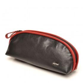 berba Soft 020  Pouch in schwarz-rot