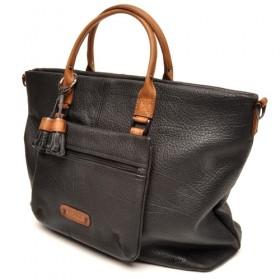 berba Chamonix 301  Handtasche in schwarz