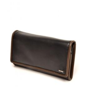 berba Soft 503  Überschlagbörse in schwarz -taupe