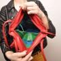 berba RGB - Kleine Schultertasche in rot